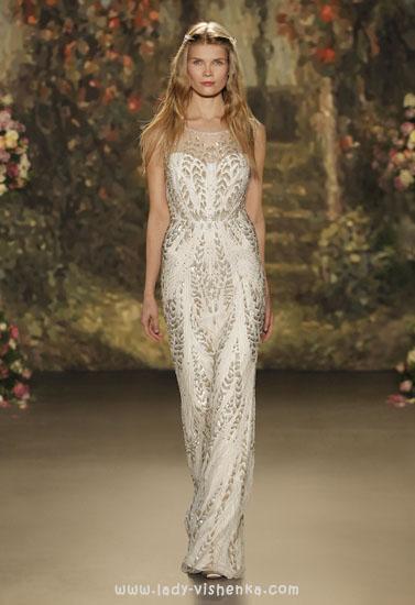 Прямые свадебные платья