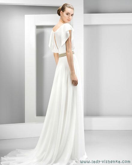 Свадебные платья с закрытыми плечами Jesus Peiro