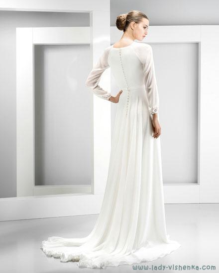 Закрытые свадебные платья Jesus Peiro