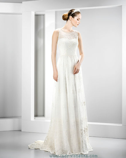 Модное свадебное платье фото Jesus Peiro