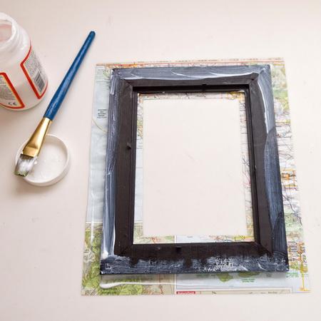 Как украсить фото рамку своими руками