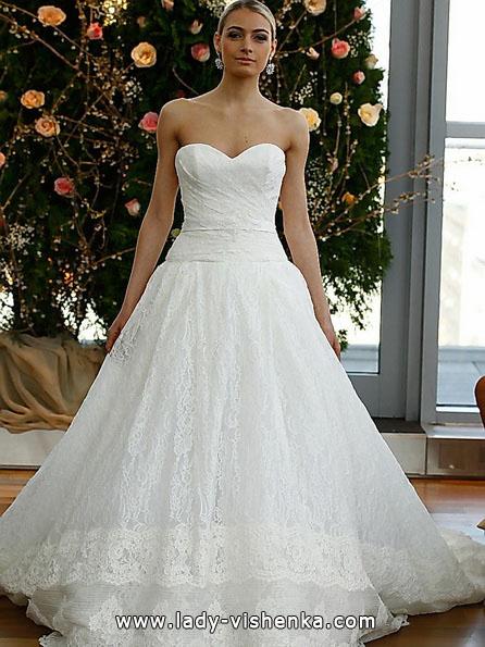 Свадебное пышное кружевное платье - Isabelle Armstrong