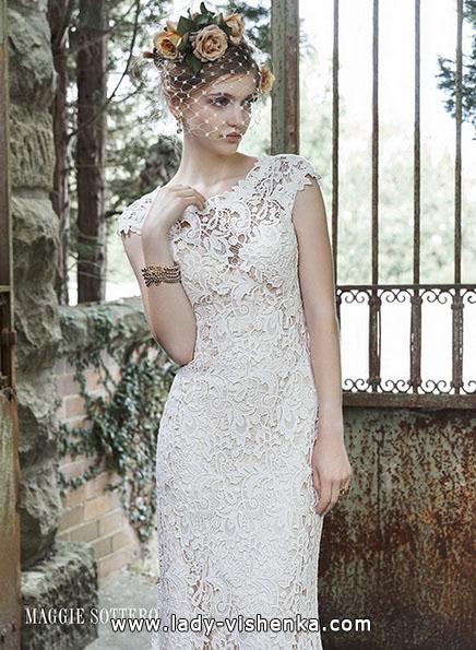 Кружевные свадебные платья 2016 - Maggie Sottero