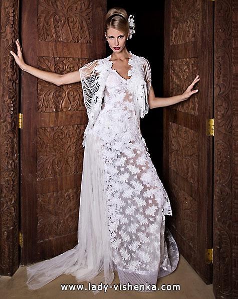 Свадебные платья с кружевом 2016 - Jordi Dalmau