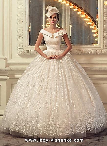 Свадебное пышное кружевное платье 2016 - Tatiana Kaplun