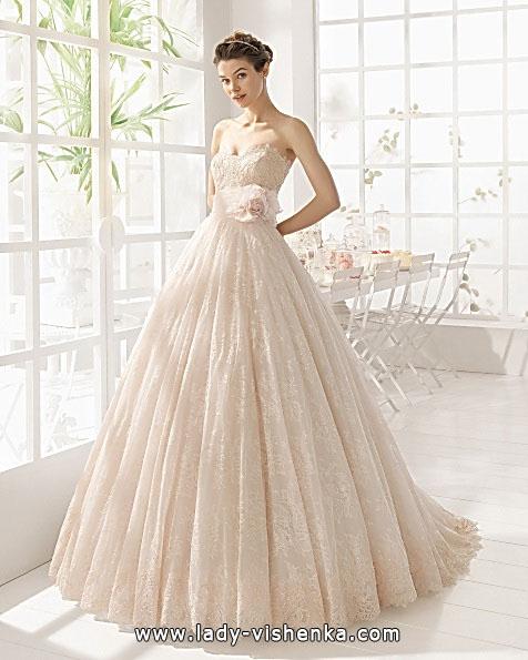 Свадебные платья с кружевом 2016 - Aire Barcelona