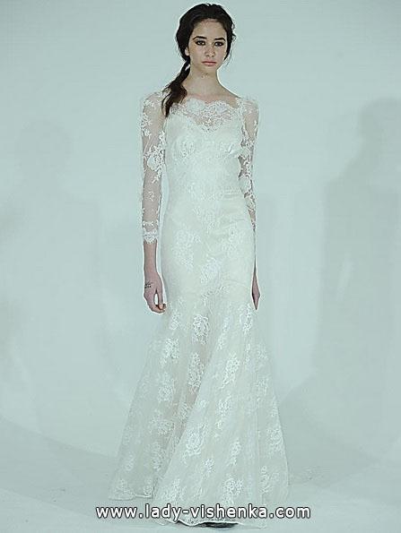 Кружевное свадебное платье - рыбка - Claire Pettibone