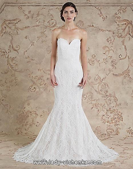 Кружевное свадебное платье - рыбка - Sareh Nouri