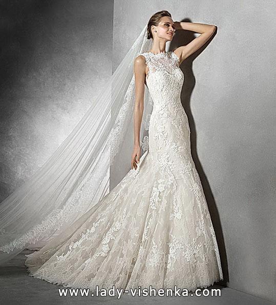 Кружевные свадебные платья - рыбка - Pronovias