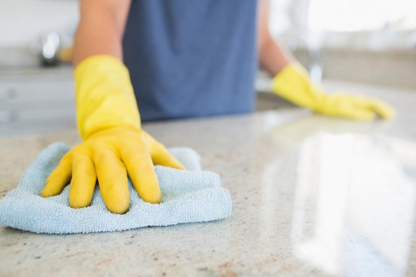 Правильная уборка в квартире