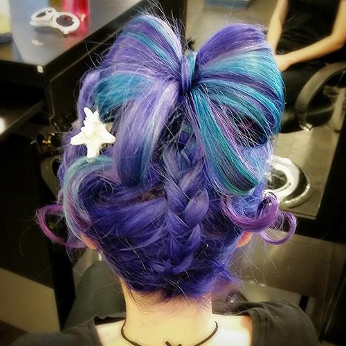 Цвет волос аниме