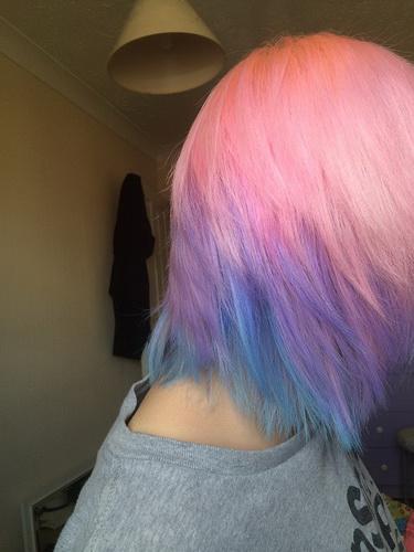 Мягкий цвет волос в стиле Пастель
