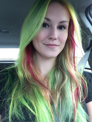 Два цвета волос - Электрик