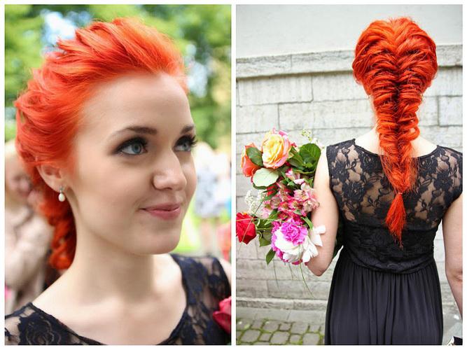 Красно-рыжий цвет волос