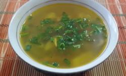 Суп с грибами вишенками - рецепт с фото