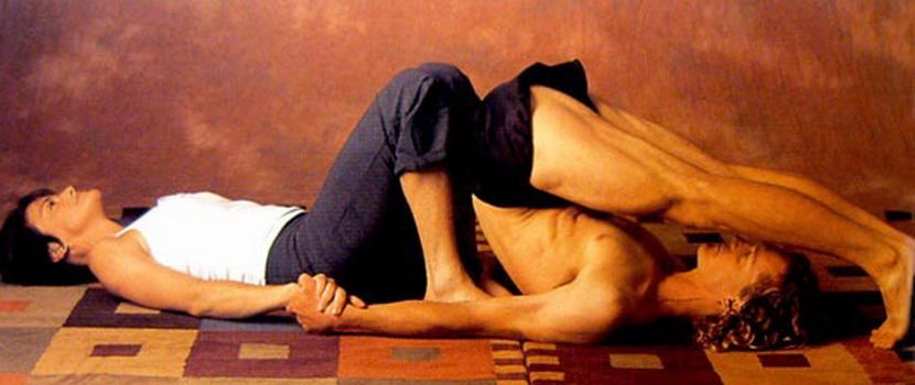 Поза Двойного моста в йоге