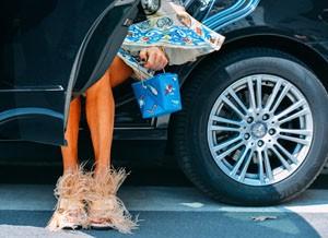 Перья в моде