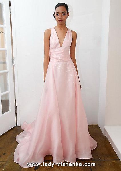 Розовое свадебное платье 2016 - Pamella Roland
