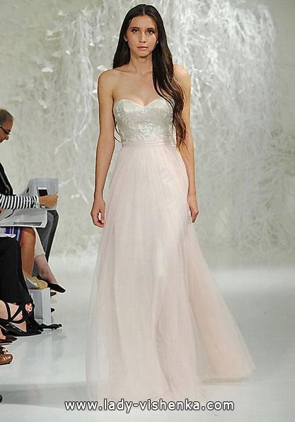 Розовое свадебное платье 2016 - Watters