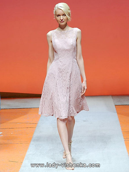 Розовое свадебное платье 2016 - Alfred Angelo