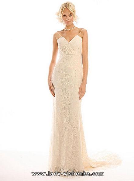 Свадебное платье розового цвета - Eugenia Couture