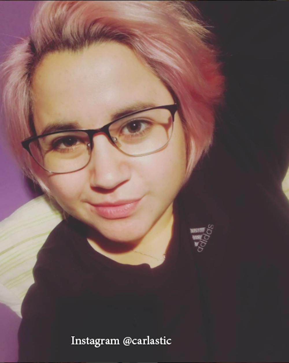 12. Розовый цвет волос