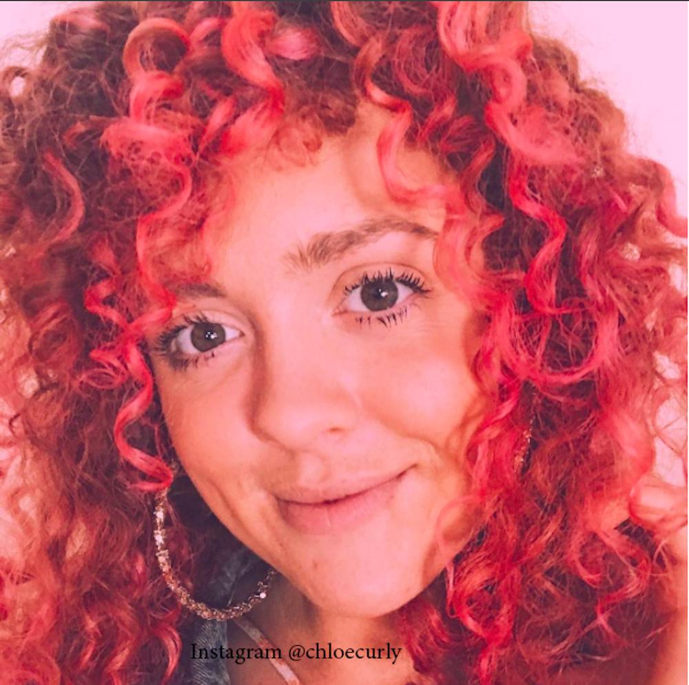 4. Розовый цвет волос