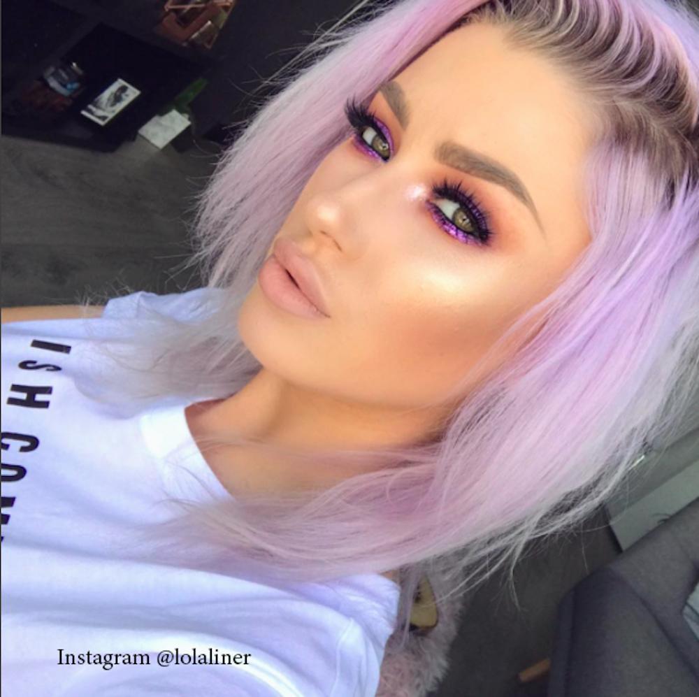 9. Розовый цвет волос