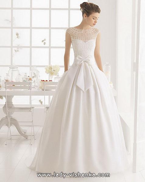 Свадебное платье принцессы с бантом - Aire Barcelona