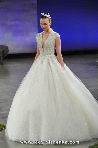 Свадебное платье принцессы 2016 - Ines Di Santo