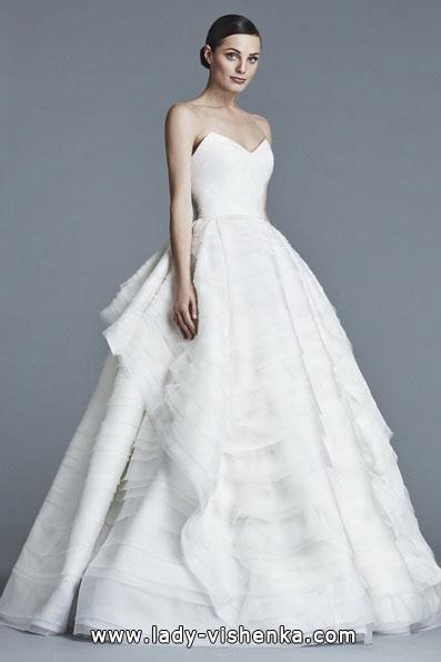 Свадебное платье принцессы 2016 - J. Mendel