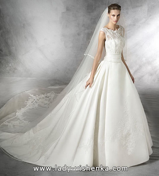 Свадебное платье в стиле принцесса - Pronovias