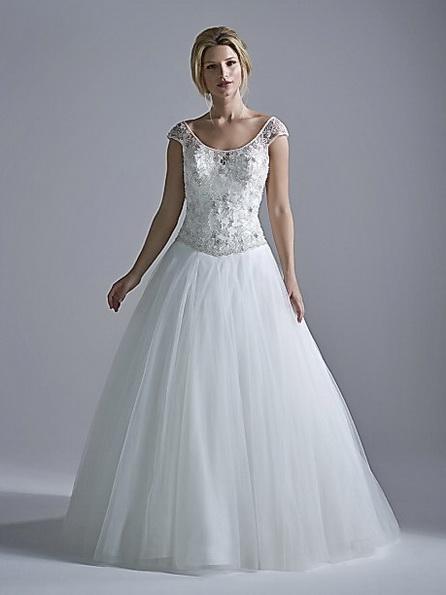 Свадебное платье принцесса фото - OPULENCE