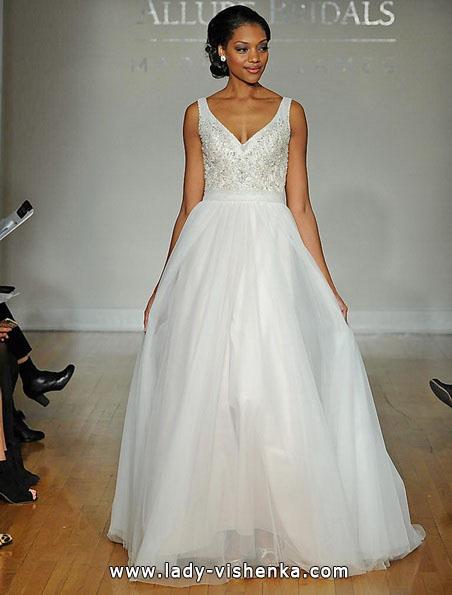 Свадебное платье принцессы фото 2016 - Allure