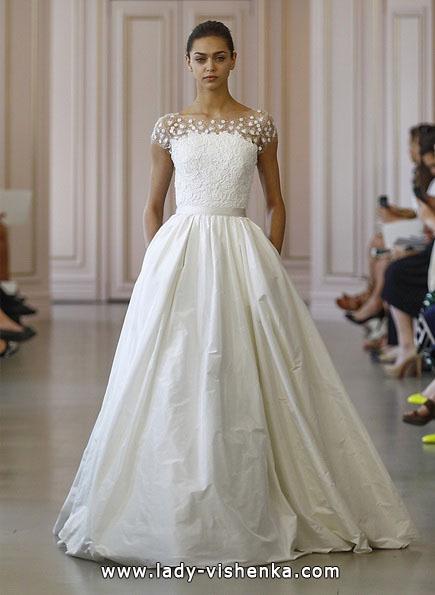 Свадебное платье принцессы 2016 - Oscar De La Renta
