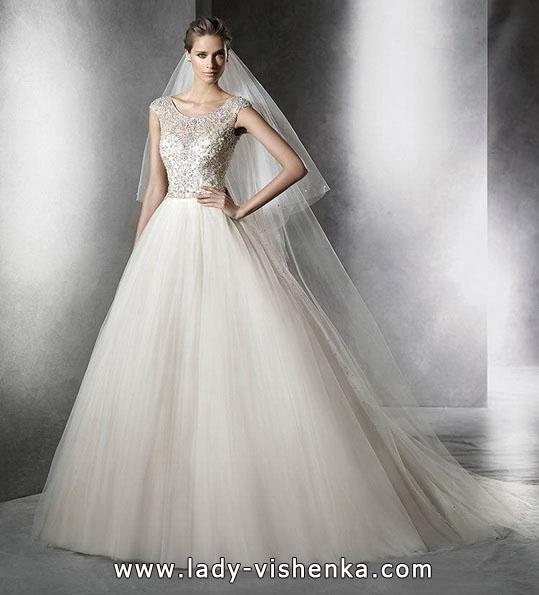 Свадебные платья - фасон принцесса - Pronovias
