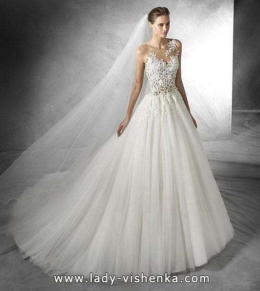 Свадебное платье принцессы фото - Pronovias