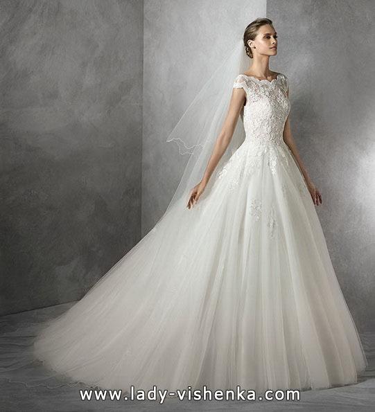 Свадебное платье силуэт принцесса - Pronovias