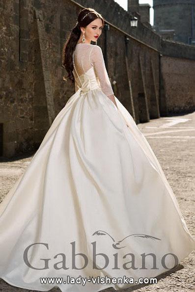 Спина свадебного платья принцессы - Gabbiano