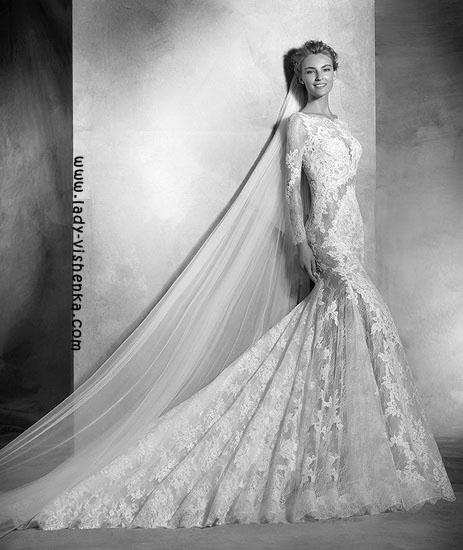 Прозрачные свадебные платья Pronovias
