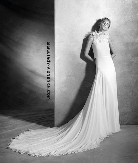 Современные свадебные платья Pronovias