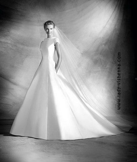 Модные свадебные платья Pronovias