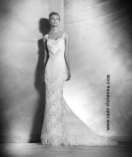 Открытые свадебные платья Pronovias