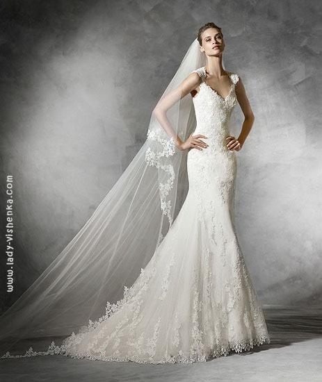 Самое свадебное платье русалочка Pronovias