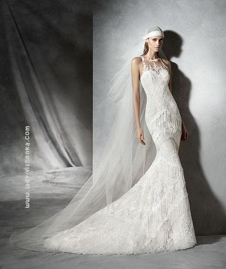 Кружевные свадебные платья 2016 Pronovias
