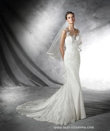 Рыбка - свадебное платье Pronovias