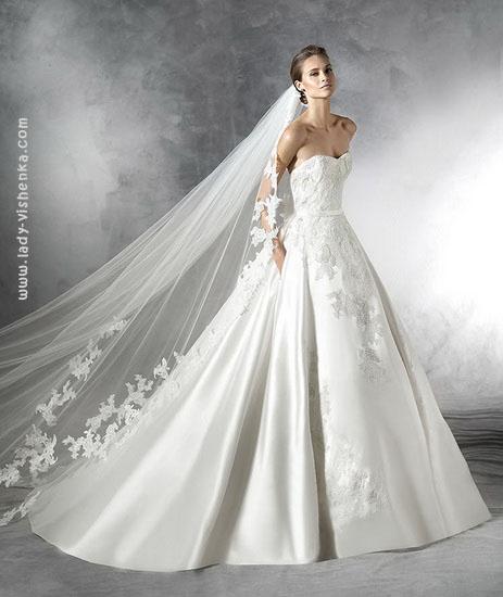 Пышные свадебные платья фото Pronovias