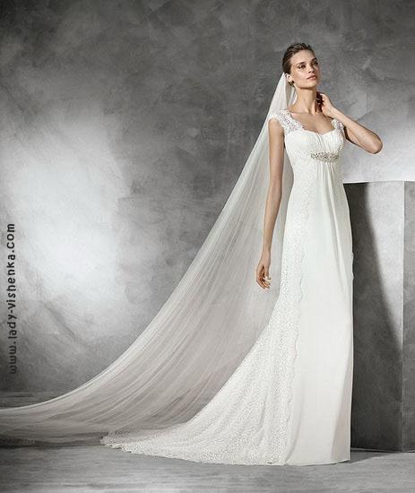 Свадебное платье А силуэта Pronovias
