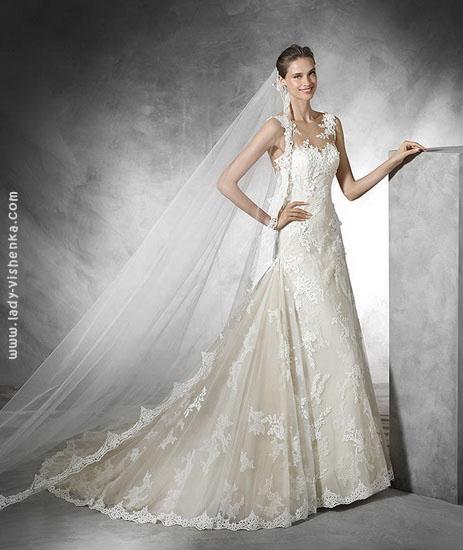 Необычные свадебные платья Pronovias