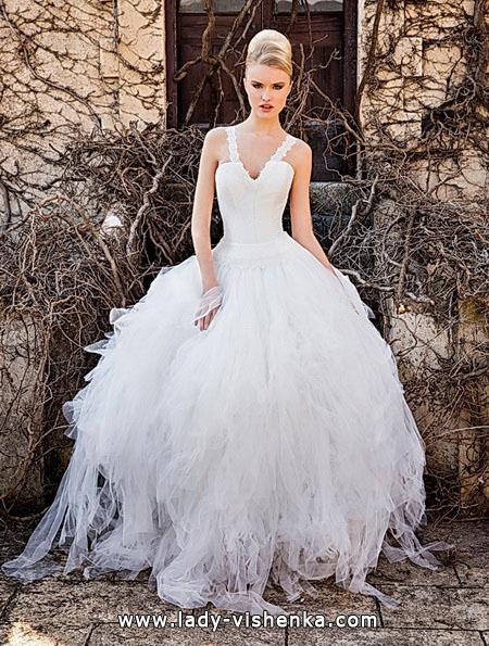 Пышные свадебные платья 2016 - Jordi-Dalmau